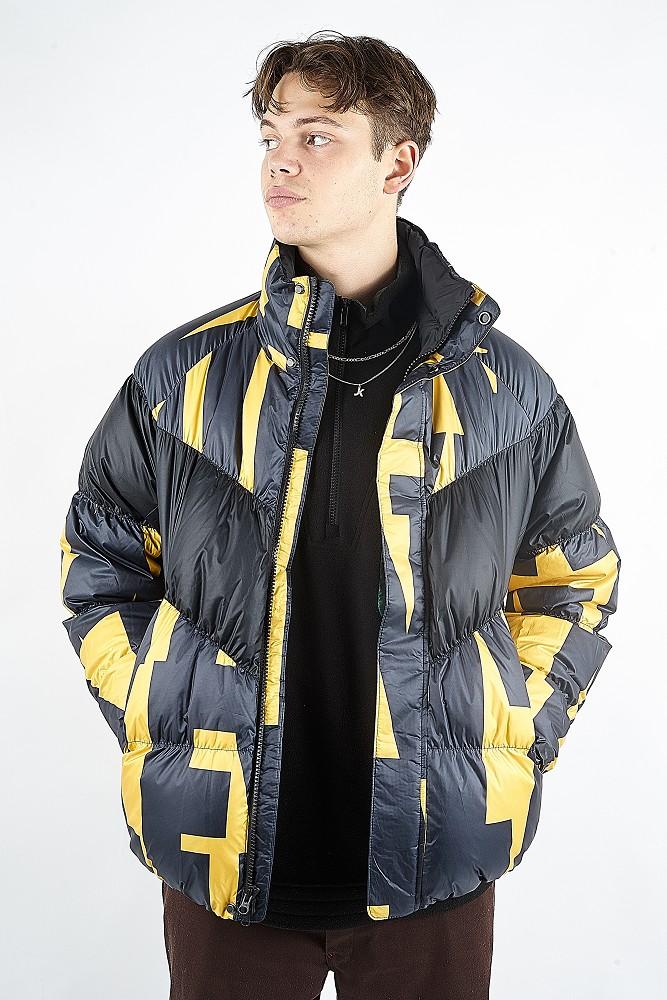 Nike Sportswear Down Fill Jacket Yellow Orche Black