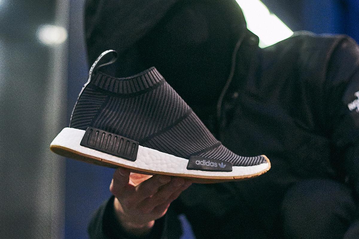 Adidas NMD City Sock Primeknit Gum Pack | Animal Tracks Blog
