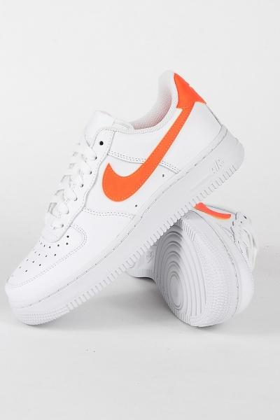 Nike Air Force 1 ´07 W White Total Orange
