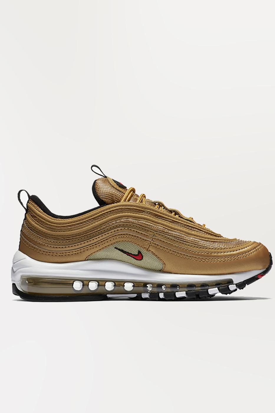 Nike Air Max 97 OG Silver & Gold   Animal Tracks